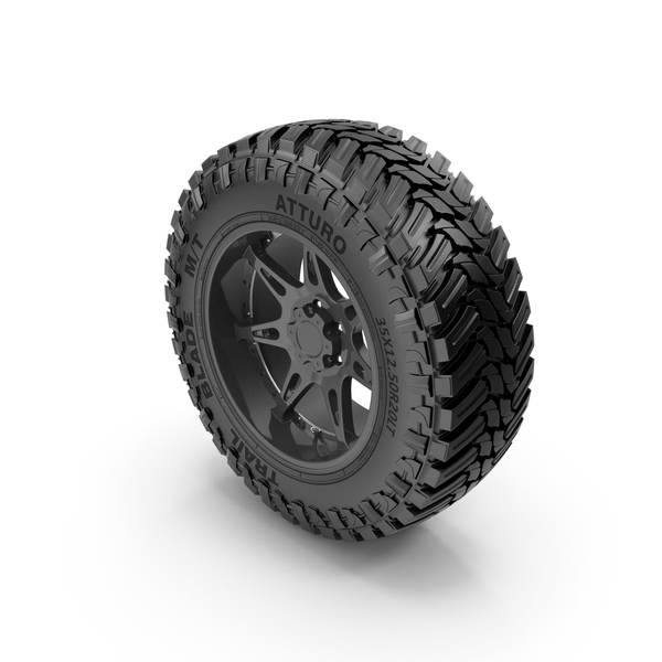 Off Road Wheel Atturo & Moto Metal PNG & PSD Images