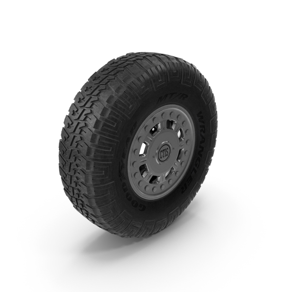 Off Road Wheel For Hummer H1 PNG & PSD Images