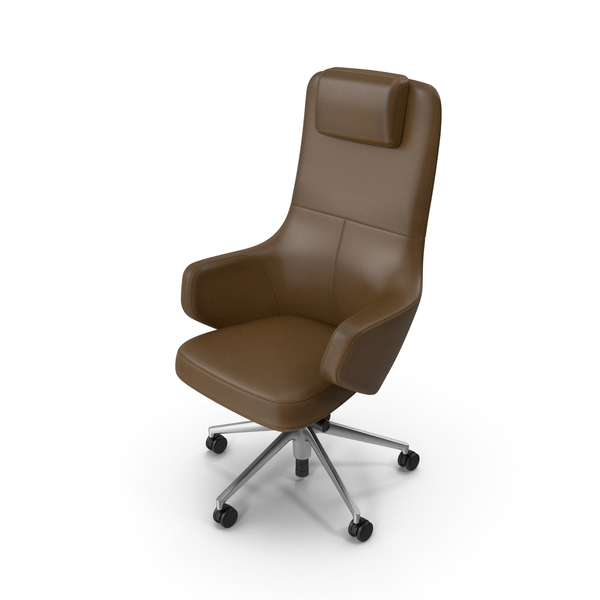 Office Chair Brown PNG & PSD Images