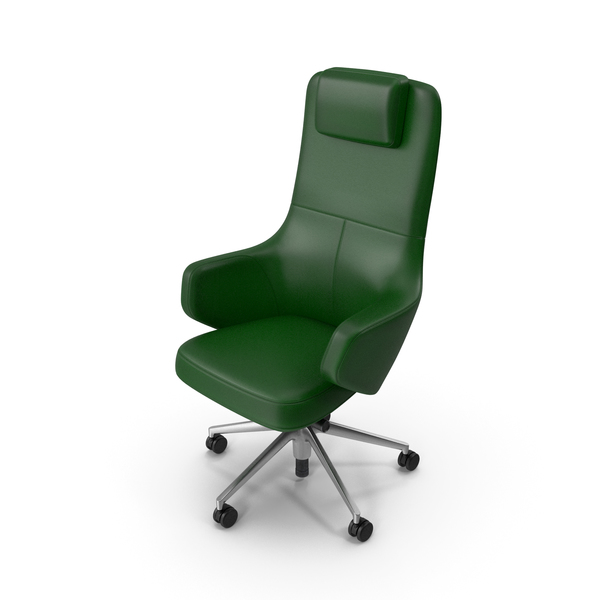 Office Chair Green PNG & PSD Images