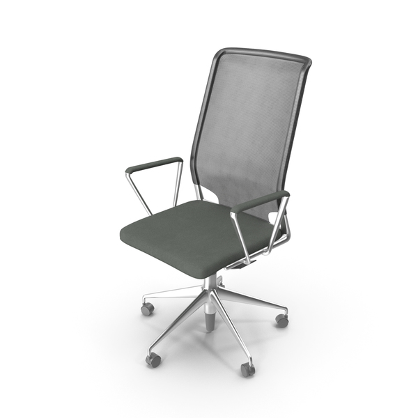 Office Chair VITRA Meda PNG & PSD Images