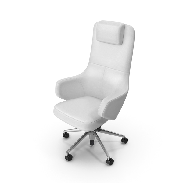 Office Chair White PNG & PSD Images