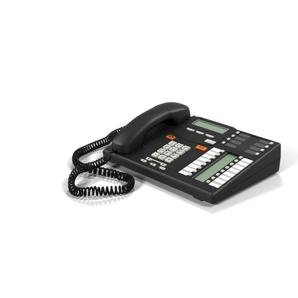 Telephone: Office Phone PNG & PSD Images