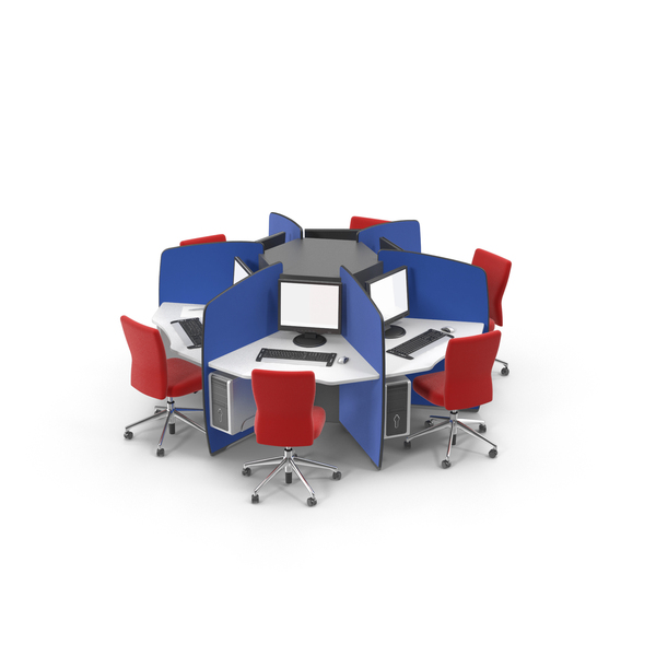 Furniture Collections: Office Set PNG & PSD Images