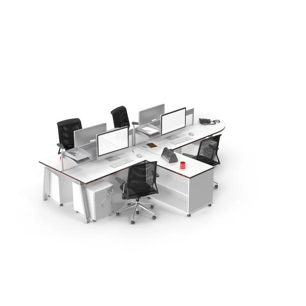 Office Set Object