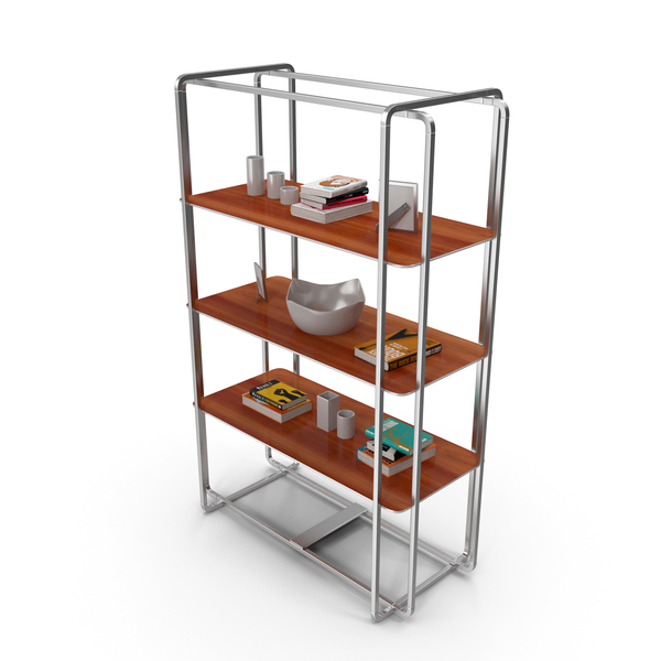 Office Shelf Wood PNG & PSD Images