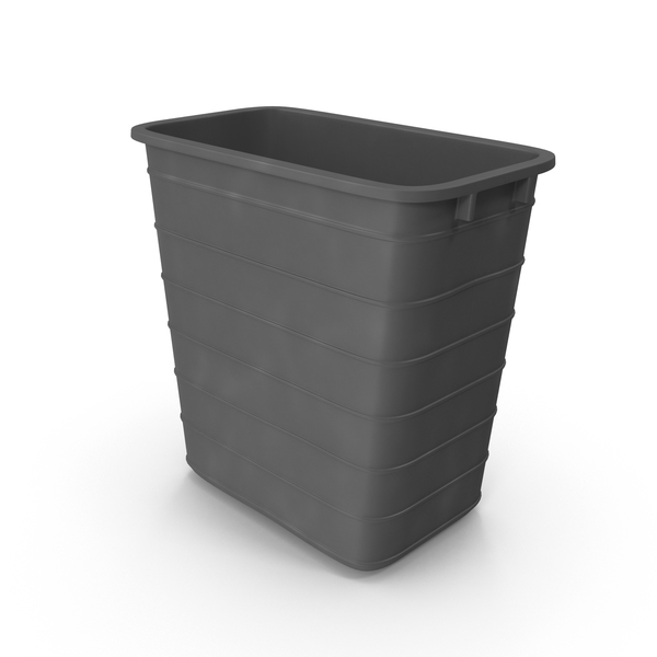 Wastepaper Basket: Office Wastebasket PNG & PSD Images