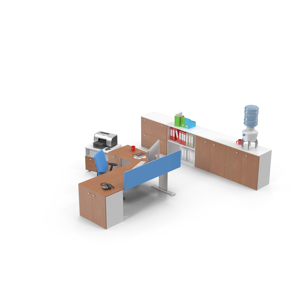Office Workstation PNG & PSD Images