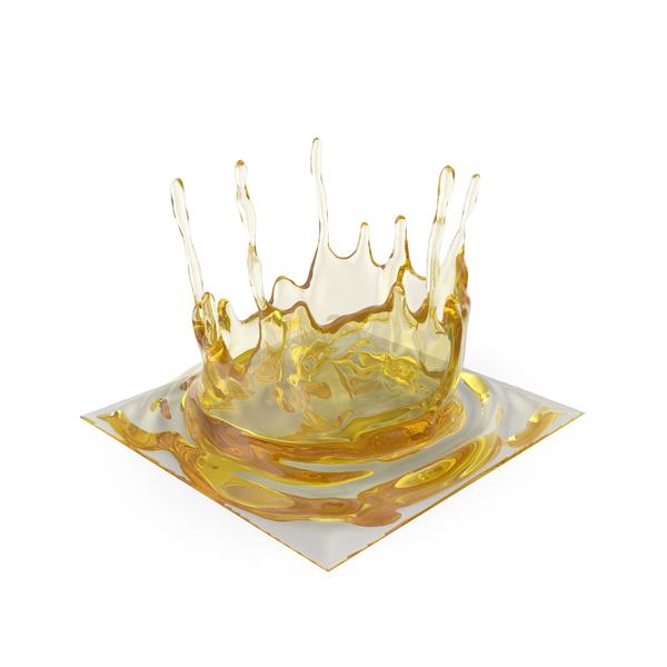 Splash: Oil Crown PNG & PSD Images