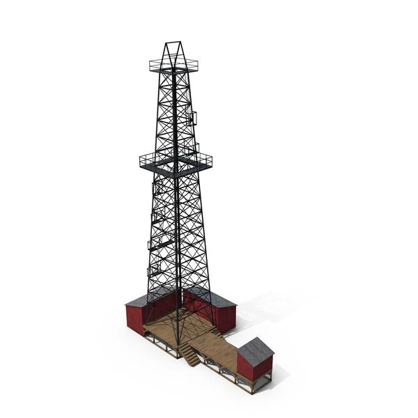 Oil Derrick PNG & PSD Images