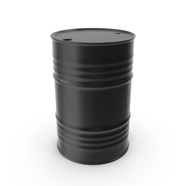 Oil Drum Black PNG & PSD Images