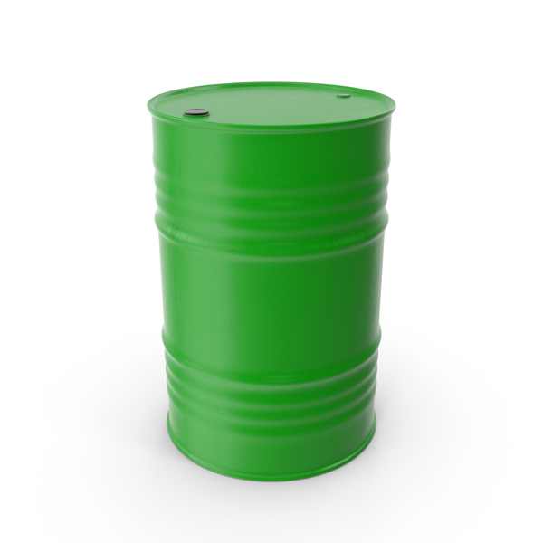 Oil Drum Green PNG & PSD Images