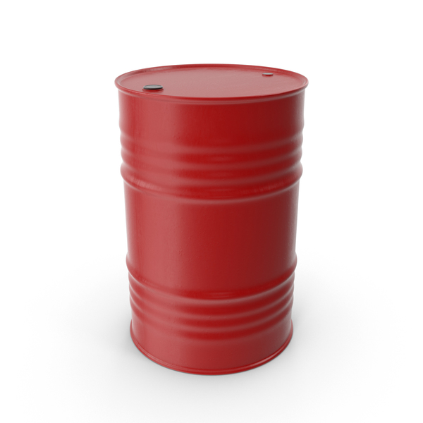 Oil Drum Red PNG & PSD Images