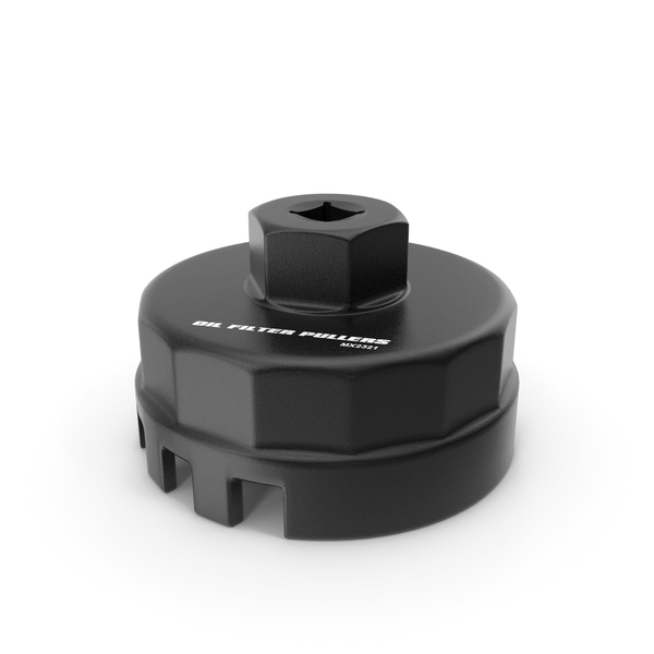 Oil Filter Wrench Black PNG & PSD Images