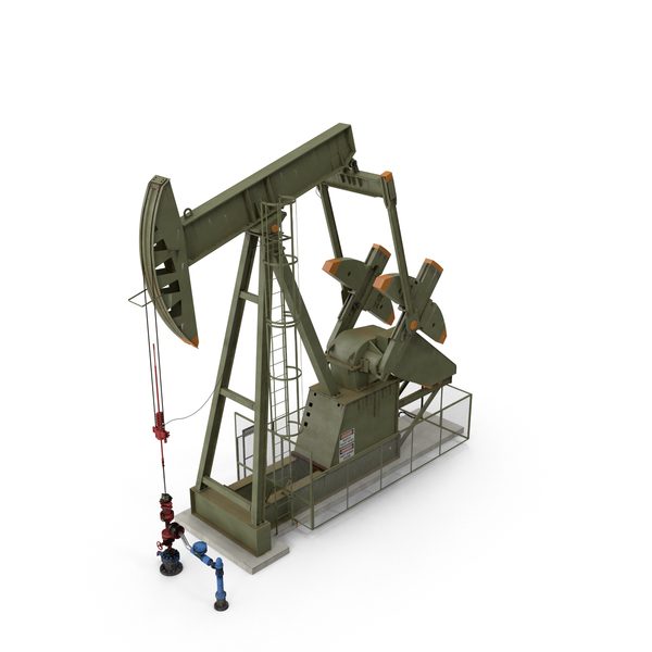 Derrick: Oil Pump Jack PNG & PSD Images