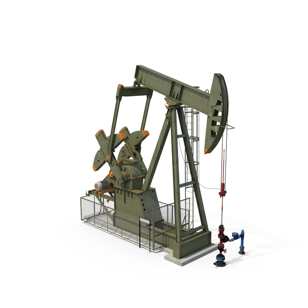 Oil Pumpjack PNG & PSD Images