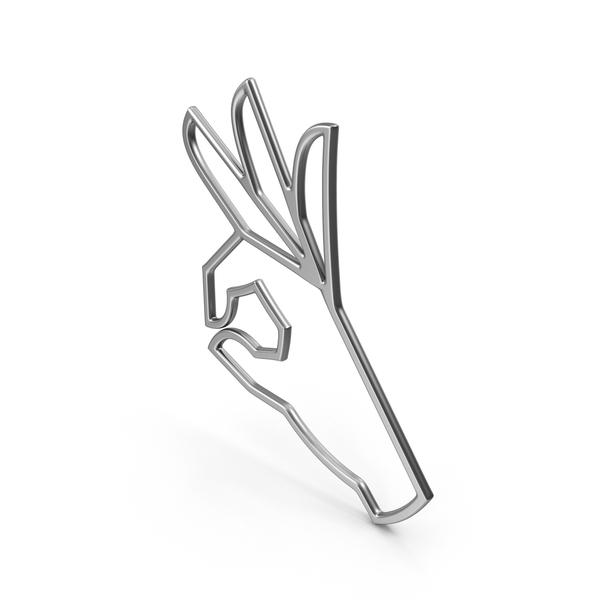 Hand Gestures: OK Symbol PNG & PSD Images