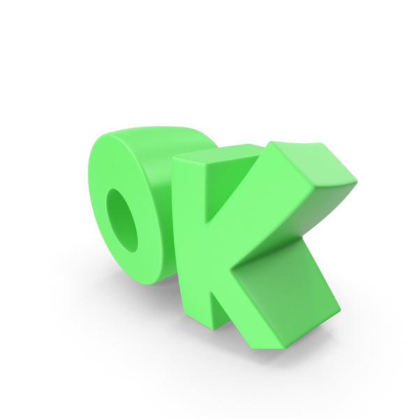 Ok Text PNG & PSD Images