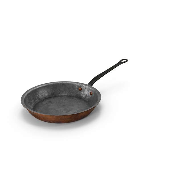 Pan: Old 10.2 Inch Skillet PNG & PSD Images