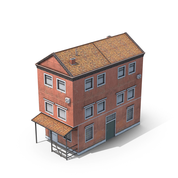 Commercial: Old Building PNG & PSD Images