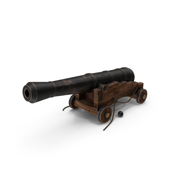 Old Cannon PNG & PSD Images