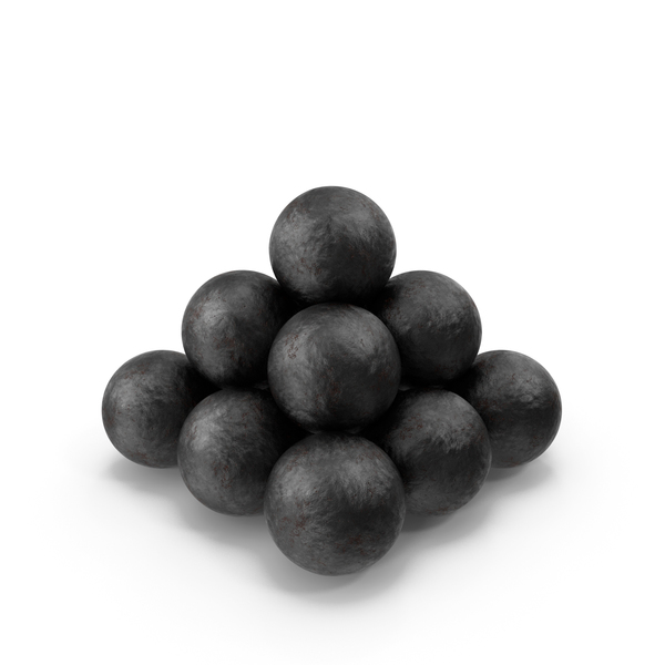 Cannonball: Old Cannonballs PNG & PSD Images