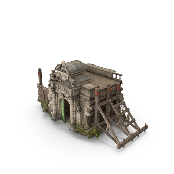 Gate: Old Castle Portal PNG & PSD Images