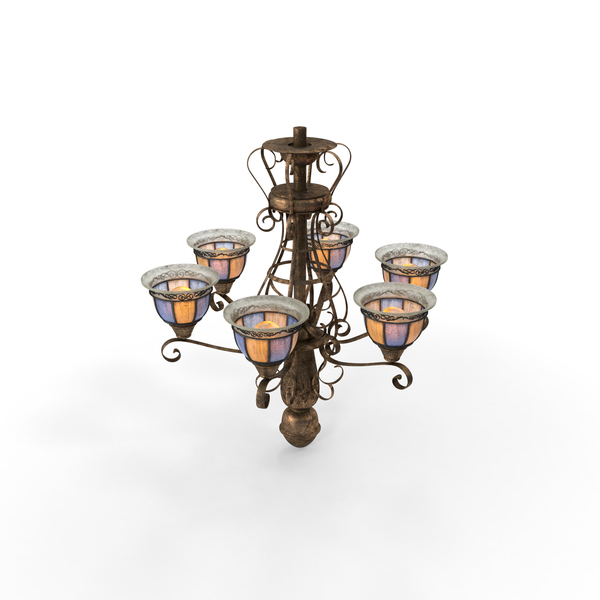 Old Chandelier PNG & PSD Images