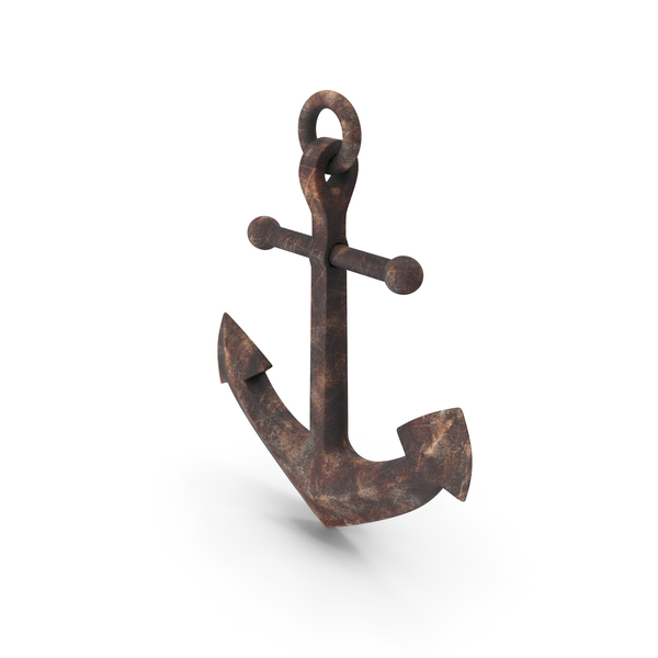 Old Fashioned Rusty Anchor PNG & PSD Images