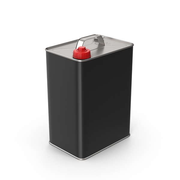 Old Gas Can Black PNG & PSD Images