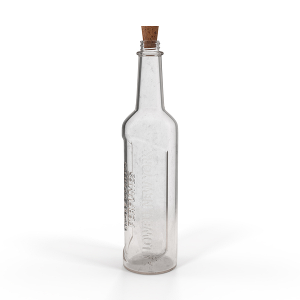 Old Glass Bottle 05 PNG & PSD Images