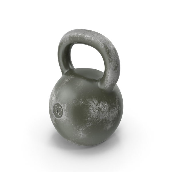 Old Kettlebell PNG & PSD Images