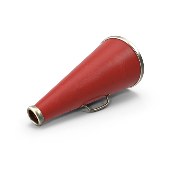 (Acoustic): Old Megaphone PNG & PSD Images