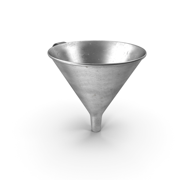 Old Metal Funnel PNG & PSD Images