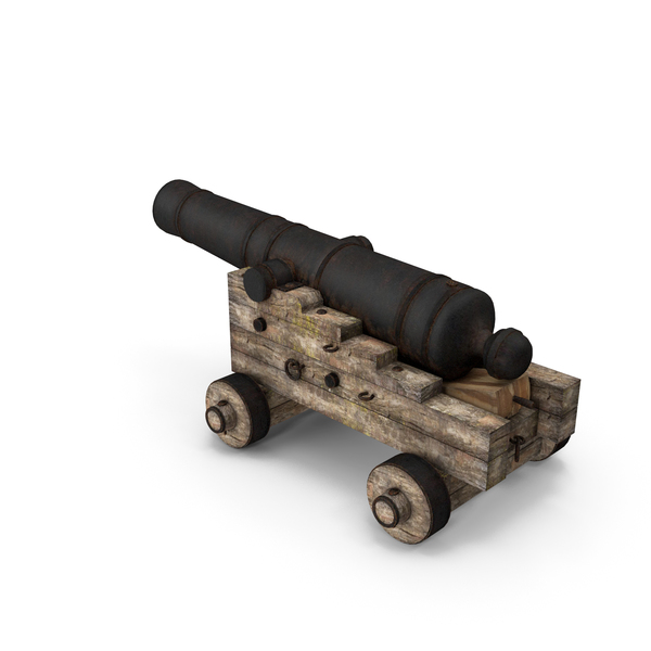 Old Pirate Cannon PNG & PSD Images