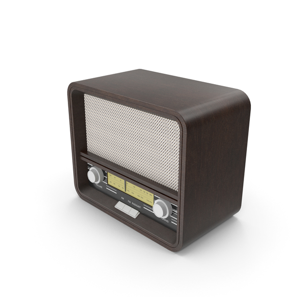 Old Radio PNG & PSD Images