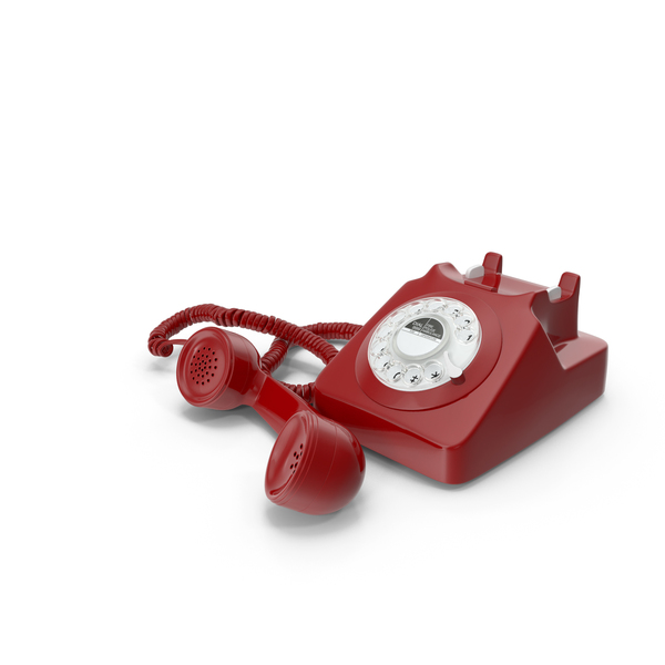 Old Rotary Phone PNG & PSD Images