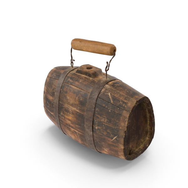 Old Rum Keg Object