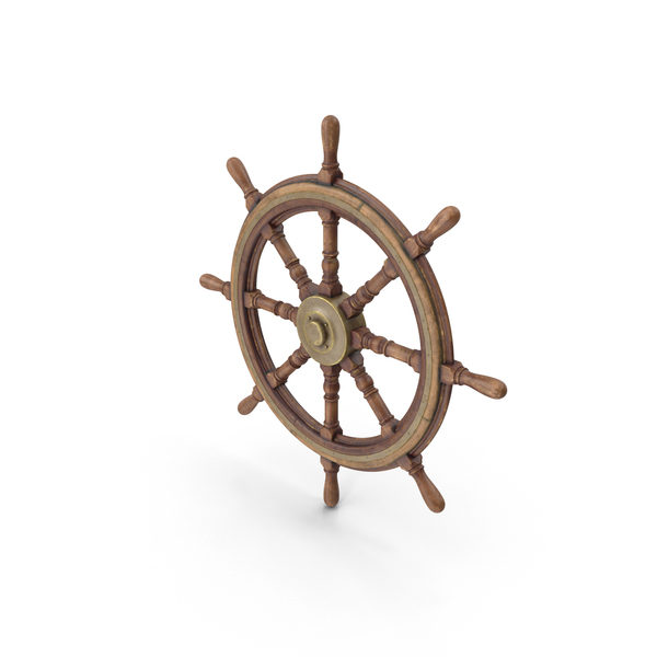 Vessel: Old Ship Wheel PNG & PSD Images