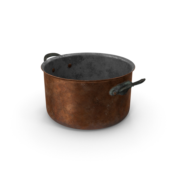 Pan: Old Stock Pot 5.9qt PNG & PSD Images