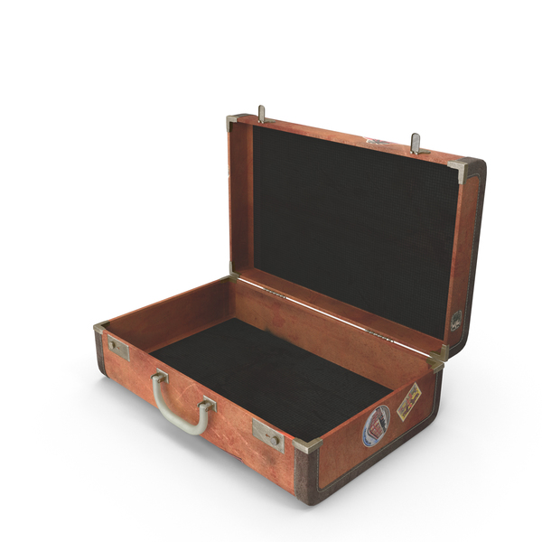 Old Suitcase Object