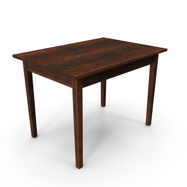 Old Table PNG & PSD Images