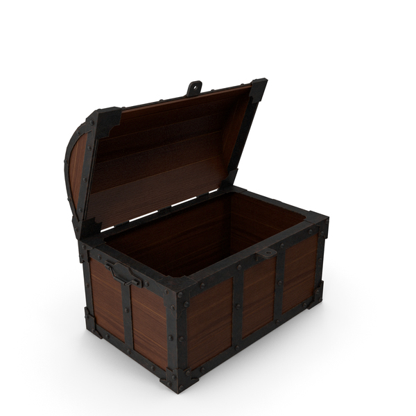 Old Treasure Chest PNG & PSD Images