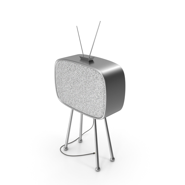 Old TV No Signal PNG & PSD Images