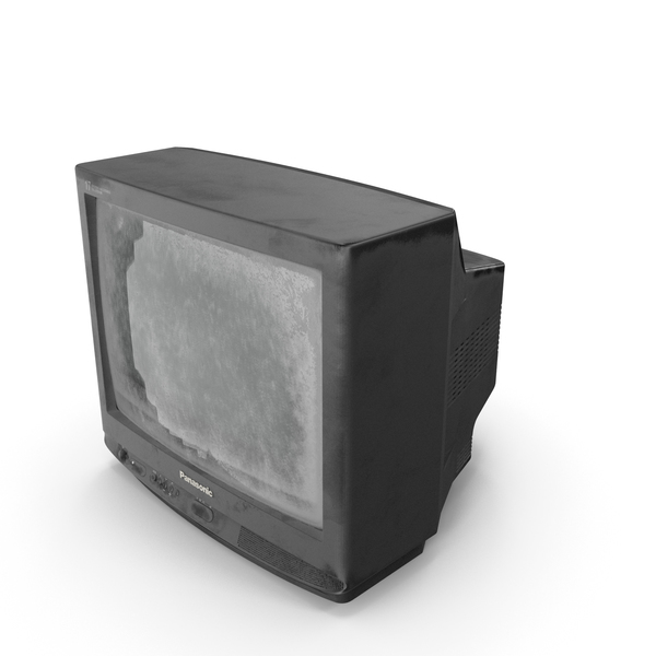 Old TV Panasonic TC21 PNG & PSD Images
