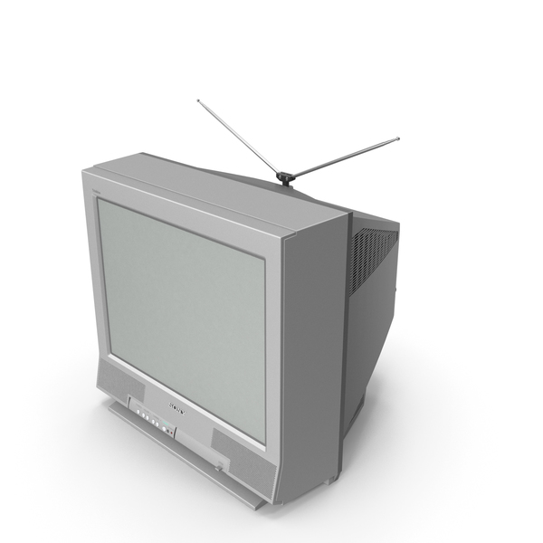 Old TV Sony Trinitron KV-20FS12 PNG & PSD Images