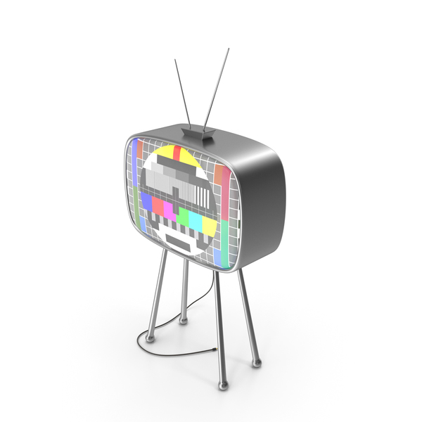 Old TV Tuning Table PNG & PSD Images