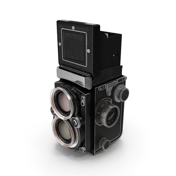 Old Twin Lens Camera Generic PNG & PSD Images