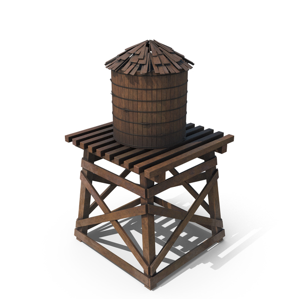 Tank: Old Water Tower PNG & PSD Images