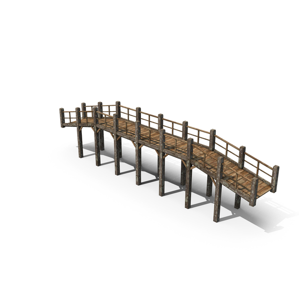 Old Wooden Bridge PNG & PSD Images